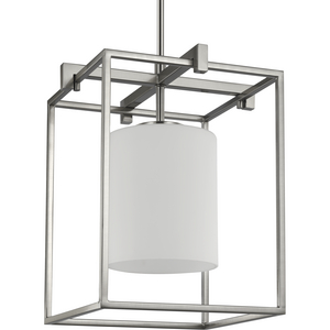 Chadwick Collection One-Light Brushed Nickel Mini-Pendant