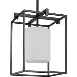 Chadwick Collection One-Light Black Mini-Pendant