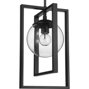 Atwell Collection Black One-Light Pendant