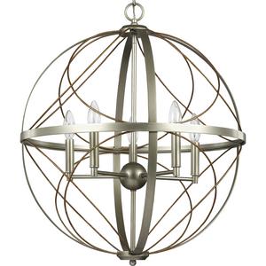 Brandywine Collection Silver Ridge Five-Light Pendant