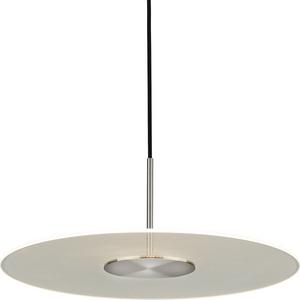 Spoke LED Collection Brushed Nickel Modern Style Hanging Pendant Light