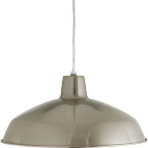 Metal Shade Collection One-Light Cord Hung LED Pendant