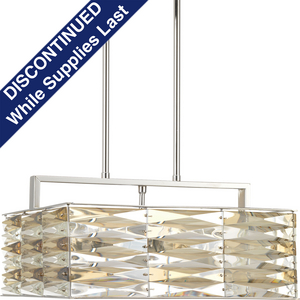 The Pointe Collection Five-Light Square Pendant