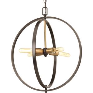 Swing Collection Four-Light Medium Pendant