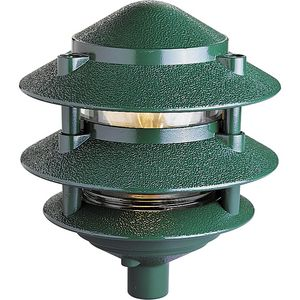 Pagoda Collection Line Voltage Landscape Path Light