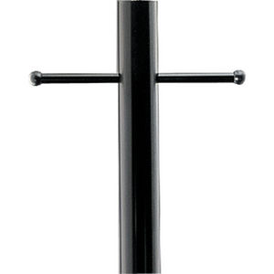 Outdoor 7' Aluminum Post with Ladder Rest