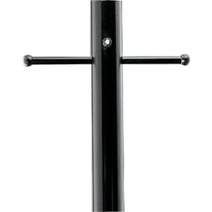 Outdoor 7' Aluminum Post with Ladder Rest, Photocell and GCO