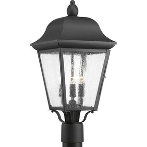 Kiawah Collection Three-Light Post Lantern