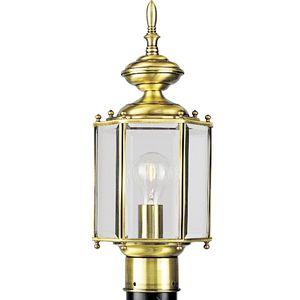 BrassGUARD Collection One-Light Post Lantern