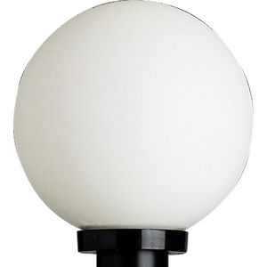Acrylic Globe One-Light Post Lantern