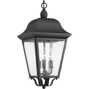 Kiawah Collection Three-Light Hanging Lantern