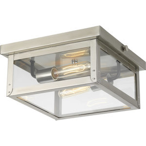 Union Square Collection Two-Light Flush Mount