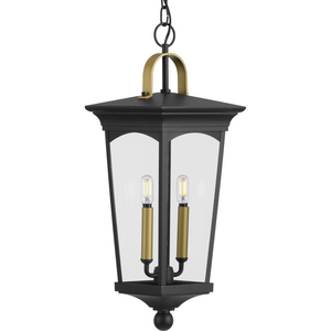 Chatsworth Collection Black Two-Light Hanging Lantern