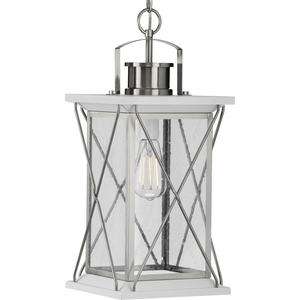 Barlowe Collection Stainless Steel One-Light Hanging Lantern