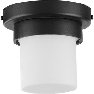 Z-1060 Collection Black One-Light LED Outdoor Flush Mount