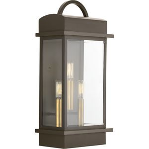 Santee Collection Three-Light Large Wall-Lantern