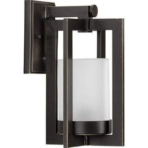 Janssen Collection Oil Rubbed Bronze One-Light Small Wall Lantern