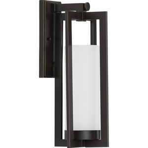 Janssen Collection Oil Rubbed Bronze One-Light Large Wall Lantern