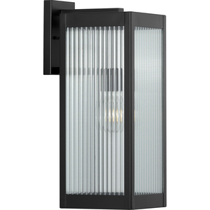 Felton Collection Black One-Light Large Wall Lantern
