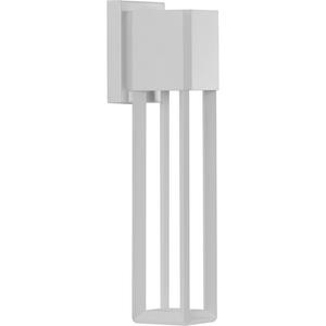 Z-1090 LED Collection Satin White One-Light Medium Wall Lantern