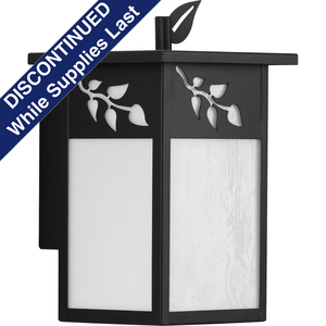 Trellis Collection Antique Bronze One-Light Small Wall Lantern