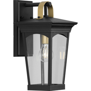Chatsworth Collection Black One-Light Small Wall Lantern