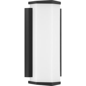Z-1070 LED Collection Black One-Light Small LED Outdoor Sconce