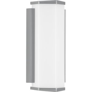 Z-1070 LED Collection Metallic Gray One-Light Small LED Outdoor Sconce