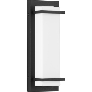 Z-1080 LED Collection Black One-Light Small LED Outdoor Sconce
