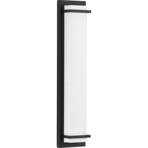 Z-1080 LED Collection Black Two-Light Large LED Outdoor Sconce