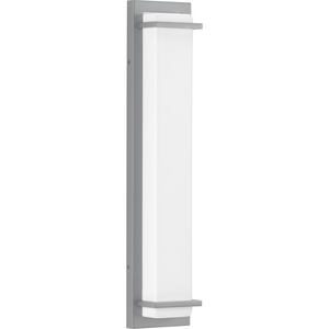 Z-1080 LED Collection Metallic Gray Two-Light Large LED Outdoor Sconce