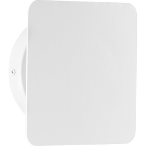 Z-2025 LED Collection One-Light Satin White Modern Style Indoor/Outdoor Wall Light