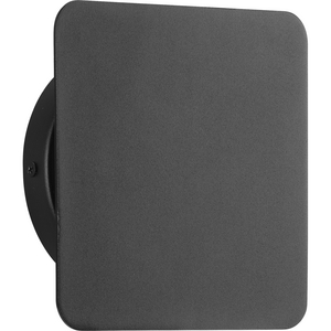 Z-2025 LED Collection One-Light Matte Black Modern Style Indoor/Outdoor Wall Light