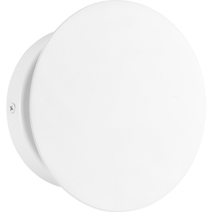 Z-2020 LED Collection One-Light Satin White Modern Style indoor/Outdoor Wall Light
