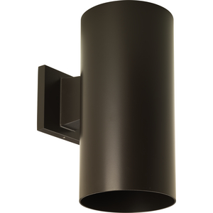 "6"" Bronze Outdoor Wall Cylinder"