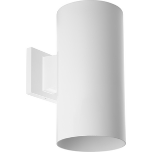 """6"""" White Outdoor Wall Cylinder"""