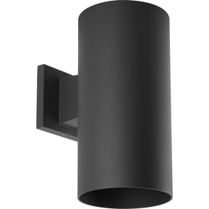 """6"""" Black LED Outdoor Wall Cylinder"""