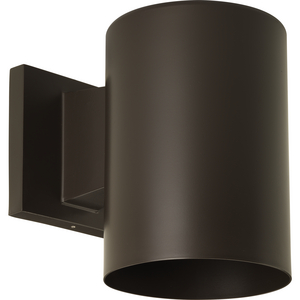 """5"""" Bronze LED Outdoor Wall Cylinder"""