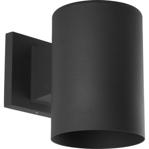 """5"""" Black Outdoor Wall Cylinder"""