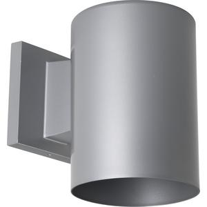 "5"" Metallic Gray LED Outdoor Wall Cylinder"