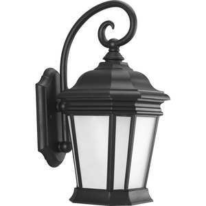 Crawford Collection Black One-Light Medium Wall Lantern