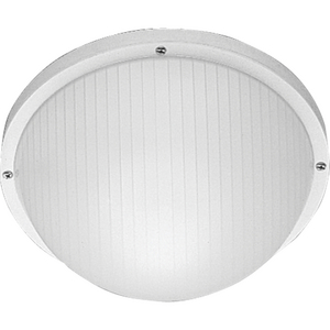 "One-Light 10"" Wall or Ceiling Mount Bulkhead"