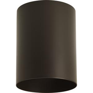 """5"""" Bronze Outdoor Ceiling Mount Cylinder"""