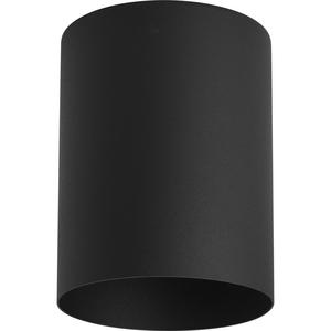 """5"""" Black Outdoor Ceiling Mount Cylinder"""
