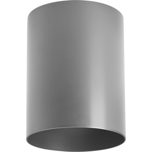 "5"" Metallic Gray LED Outdoor Flush Mount Cylinder"