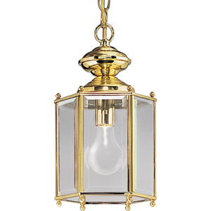 """One-Light Beveled Glass 7-1/8"""" Close-to-Ceiling"""