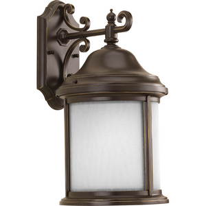 Ashmore Collection Antique Bronze One-Light Wall Lantern
