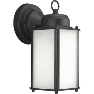 Roman Coach Collection Black One-Light Small Wall Lantern