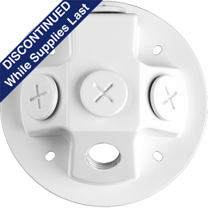 Security Light Back Plate