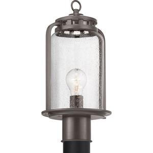 Botta Collection Antique Bronze One-Light Post Lantern